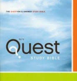 Zondervan NIV Quest Bible, Hardcover 1484