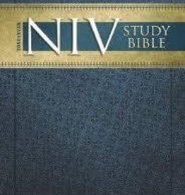 Zondervan NIV Study Bible, hardcover grey/blue 8965