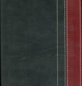 Zondervan NIV Thinline Bible, charcoal/red 5853