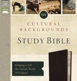 Keener, Craig S NIV, Cultural Backgrounds Study Bible, Black, Indexed, Red Letter Edition 4435