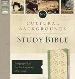 Keener, Craig S NIV, Cultural Backgrounds Study Bible, Green, Indexed, Red Letter Edition 1043