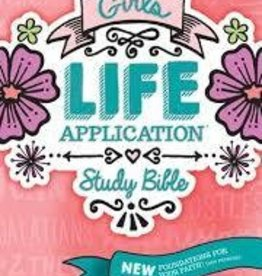 Tyndale NLT Girls Life Application Study Bible, hardcover 7818