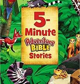 Zonderkidz 5-Minute Adventure Bible Stories