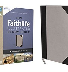 Zondervan NIV Faithlife Illustrated Study Bible, Gray/Black 0603