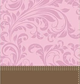 Keener, Craig S NIV Cultural Backgrounds Study Bible, Personal Size, Imitation Leather, Pink/Brown, Indexed, Red Letter Edition: Bringing to Life the Ancient World of Scripture 7870