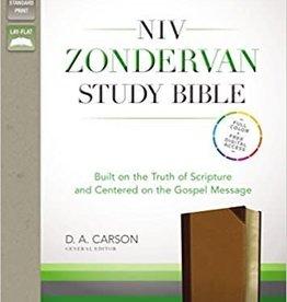 Zondervan NIV Zondervan Study Bible, tan/brown 4763