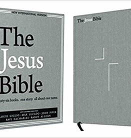 Giglio, Louie NIV Jesus Bible, NIV Edition, Gray Linen 4671