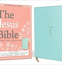 Giglio, Louie NIV Jesus Bible, NIV Edition, Blue 4695