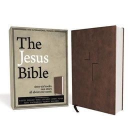 Giglio, Louie NIV Jesus Bible, NIV Edition, Brown 4688