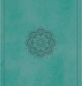 Crossway Bibles ESV Large Print Value Thinline Bible (Trutone, Turquoise, Emblem Design) - Large Print 5985