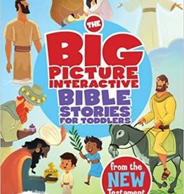 B&H Kids Editorial The Big Picture Interactive Bible Stories for Toddlers New Testament: Connecting Christ Throughout God's Story (The Gospel Project)