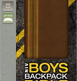 Zondervan NIV Boys Backpack Bible, Brown 2274