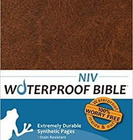 Bardin & Marsee Publishing NIV Waterproof Bible Brown 0526