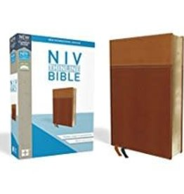 NIV Thinline Bible, Tan Red Letter, 8860