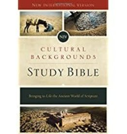 NIV Cultural Backgrounds Study Bible - Red Letter Edition