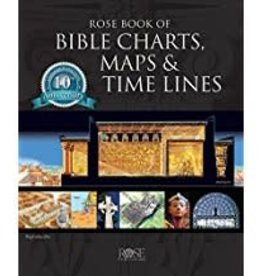 Rose Publishing Rose book of Bible Charts, Maps, and Time Lines