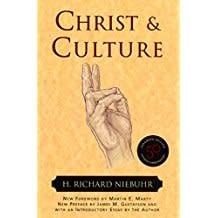 Niebuhr, Richard Christ and Culture