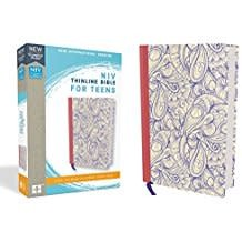 NIV Thinline bible for Teens Hardcover Purple Red Letter 8686