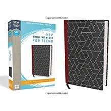 NIV Thinline Bible for Teens Black Red Letter 8679