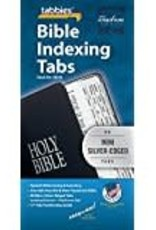 Tabbies Bible Indexing Tabs, mini-silver-edged 3430