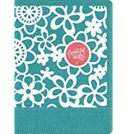 NIV Journal the Word bible, Pink Floral 0269