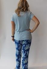 Cool Girl Pj Tee/Pant Floral Daze