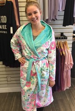 Cloud Nine Pajamas Minky Cuddle Robe
