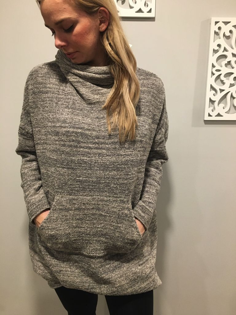 Barefoot Dreams Pullover Funnel Cozy Chic