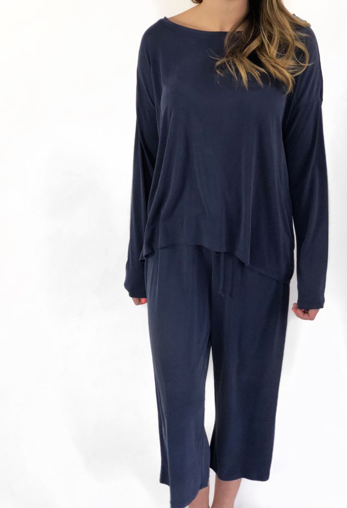 PJ Salvage PJ Tee/Capri Elevated Lounge
