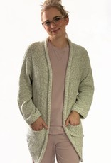 Paper Label Cardigan Inez