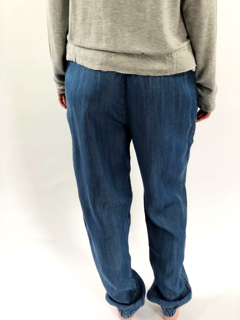 PJ Salvage Pant Denim Blues