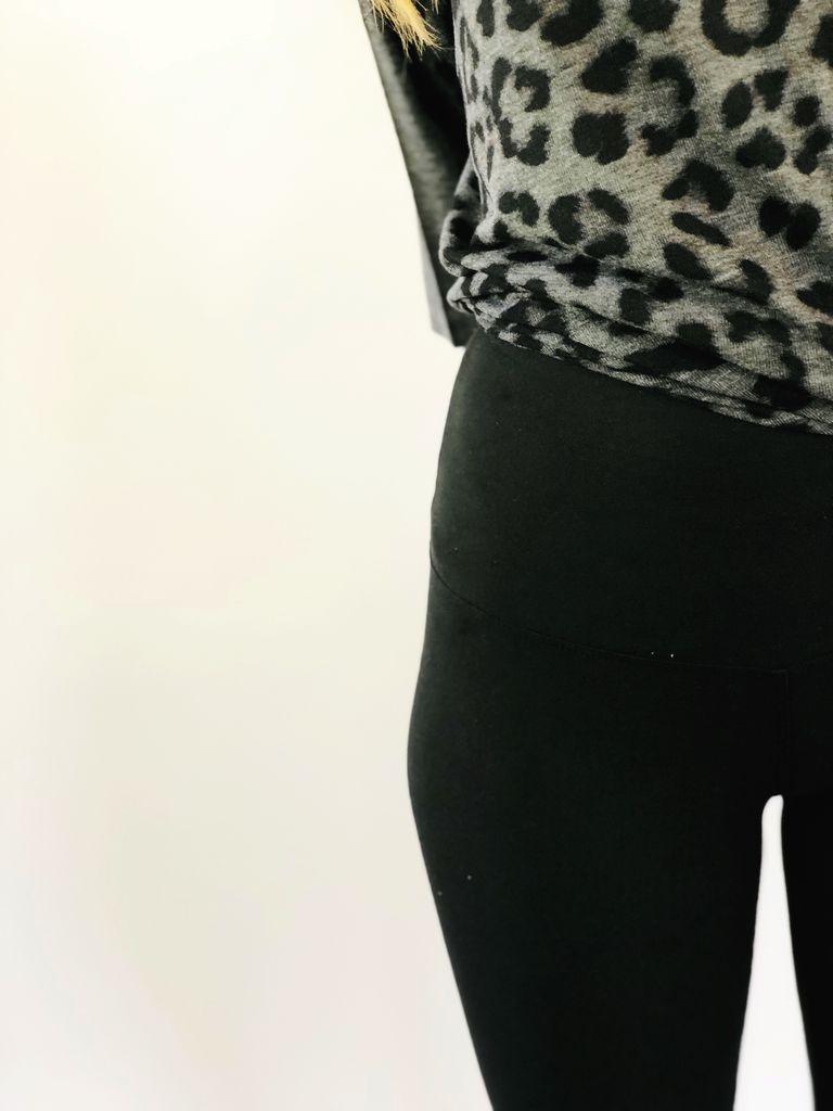 Scarlett Ellie PJ Top Leopard/High Waist Legging Barbie