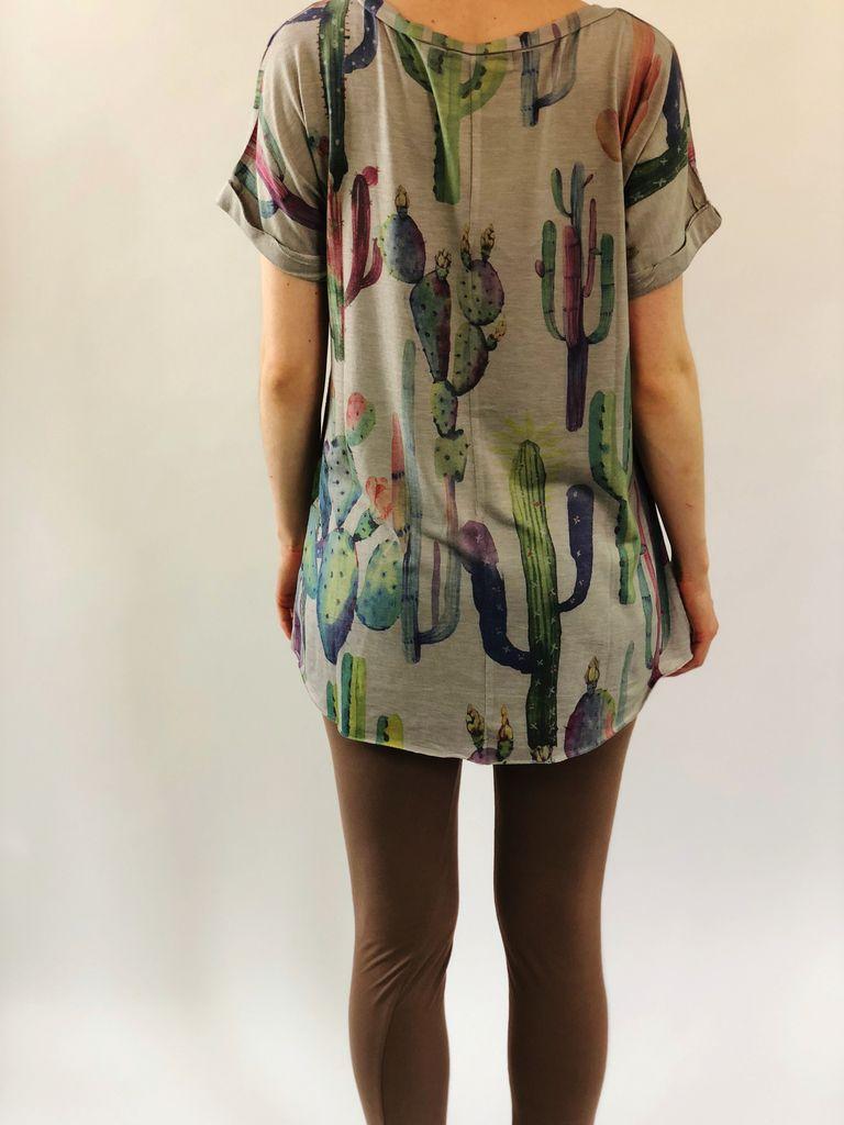 Scarlett Ellie PJ Tee/Legging Cactus Bobby