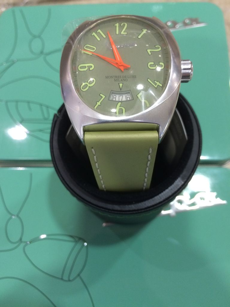 Lifestyle Watch, Vespa Green