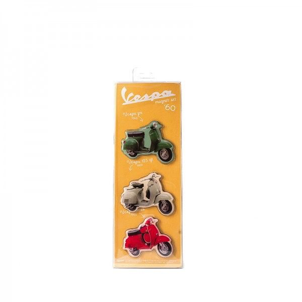 Lifestyle Magnet Set, 1950-2000 (3 pkgs - 9pcs)
