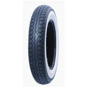 Parts Tire, 3.50 x 10 51J SAVA White Wall