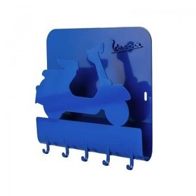Lifestyle Key Holder Vespa Blue Metal