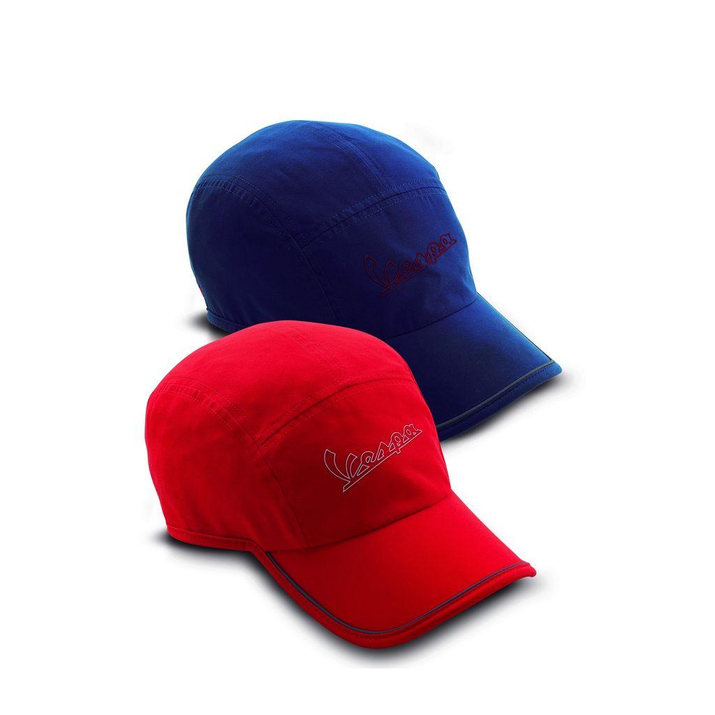 Apparel Hat, Vespa Ball Cap Red Micro 3M Stripe