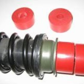 Parts Shock Bushings, GT/GTS Rear Upper/Lower 95A Duro