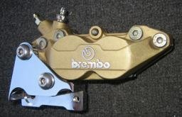 Parts Brembo Brake Assembly GT/GTS/GTV Gold Finish