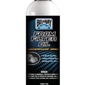 Parts Air Filter Oil Spray