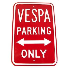 Lifestyle Parking Sign - Vespa Parking Only