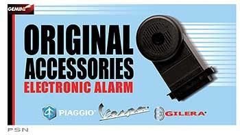 Accessories Alarm, Piaggio BV350/X9 Factory