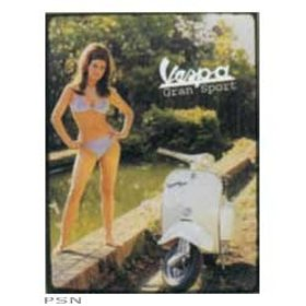 Lifestyle Vespa Tin Sign Rachuel Welch