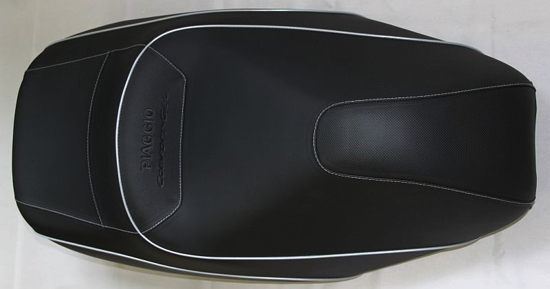 Accessories Saddle, MP3 Raised Comfort Touring Saddle