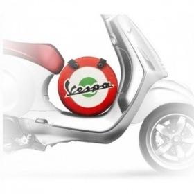 Lifestyle Wheel Shape Bag Italian Flag