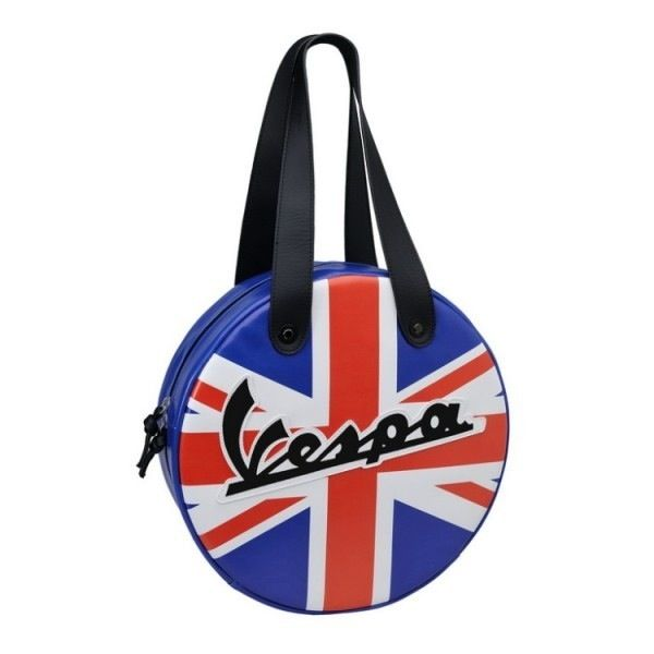 Lifestyle Wheel Shape Bag UK Flag