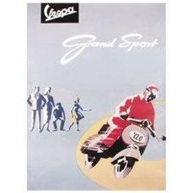 Lifestyle Poster, Vespa Grand Sport