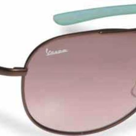 Lifestyle Sunglasses, Vespa Brown Metal