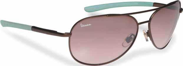 Lifestyle Sunglasses, Vespa Brown Metal